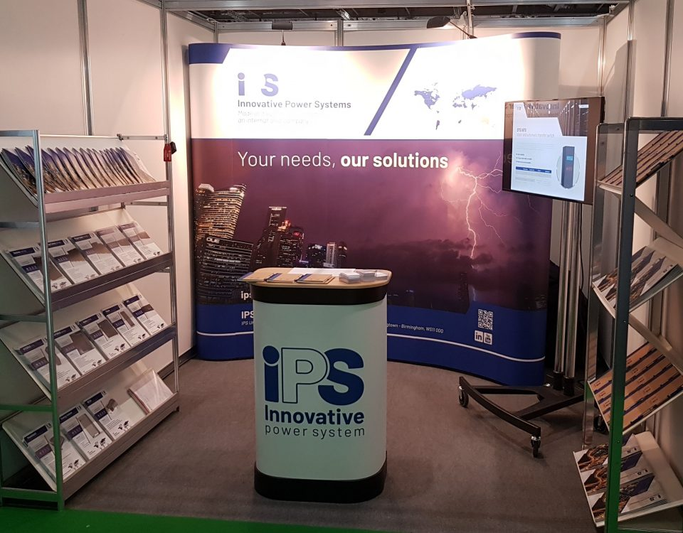 stand world data center london - ips innovative power systems