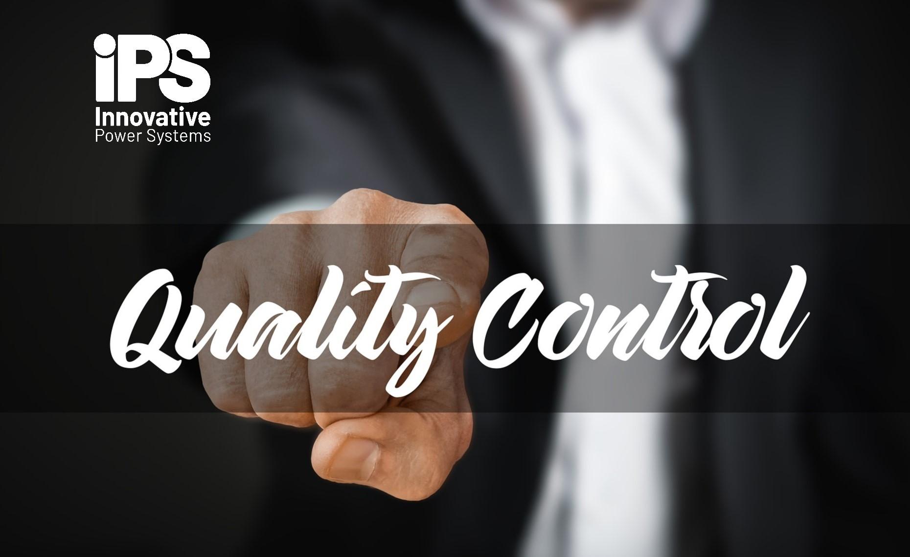 IPS, update of standard ISO 9001 image